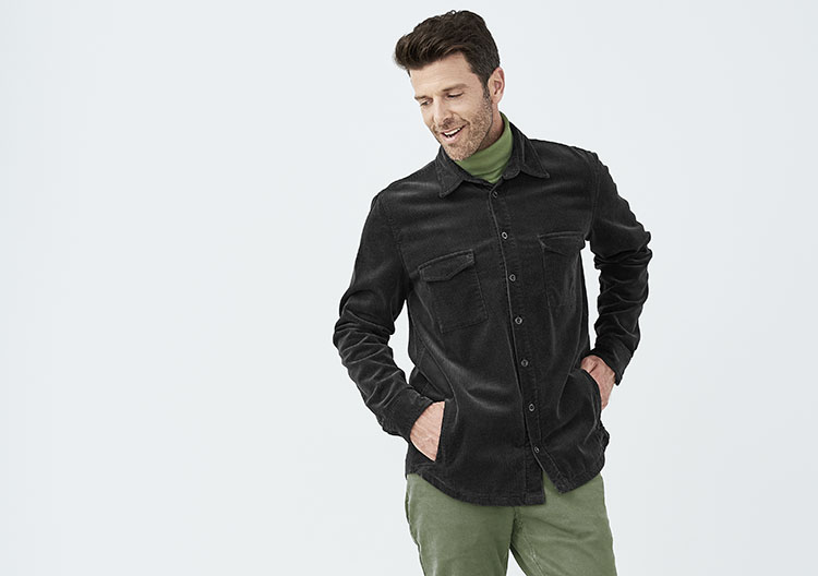 limited edition man overshirt