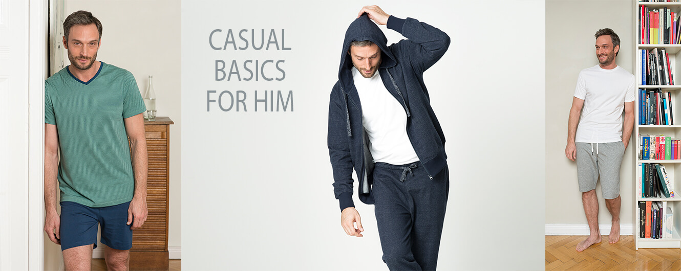 Casual basics for him